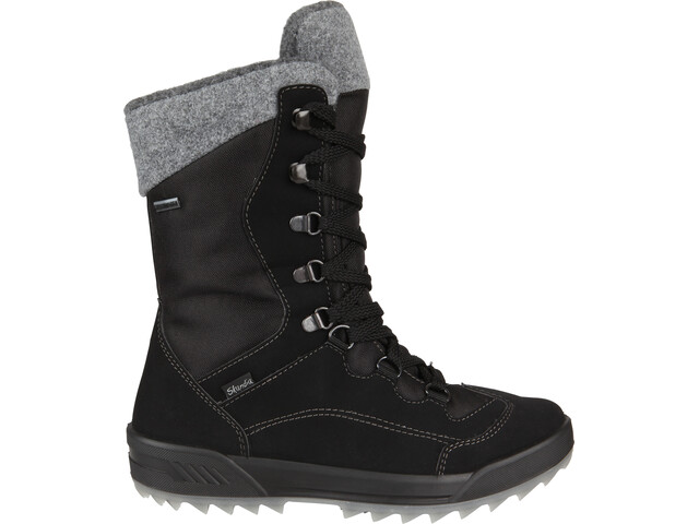 High Colorado Viola Boots hiver Femme, black-grey